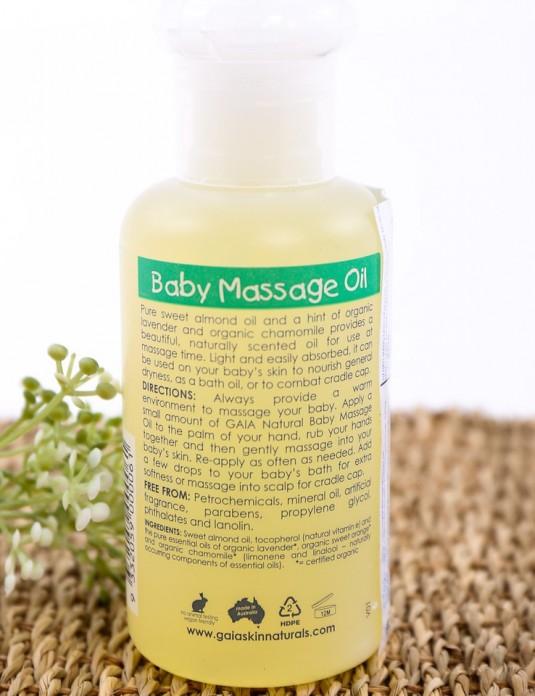 Dầu massage hữu cơ trẻ em Gaia